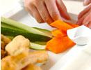 1本アナゴの大葉ベニエ&フレッシュ野菜の作り方5