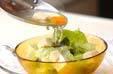 レタスと豆腐のスープの作り方8