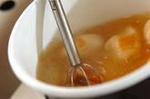 ナメコとキムチのみそ汁の作り方4