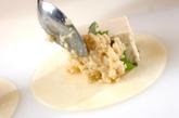 豆腐とみそのはさみ揚げの作り方1