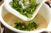 豆腐のすり流し汁の作り方2