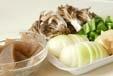 牛肉と野菜のソース炒めの下準備2