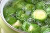 芽キャベツのバター炒めの作り方の手順1