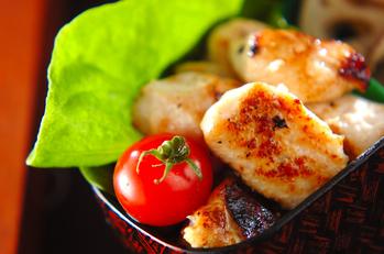 鶏むね肉の塩麹ステーキ