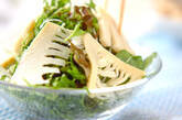 タケノコのサラダの作り方7