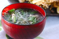 モヤシのスープ