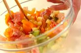 トロピカルフルーツサラダの作り方2
