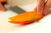 トロピカルフルーツサラダの下準備1