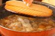 大根と豚肉の中華煮の作り方3