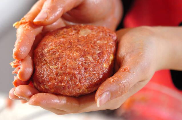 ふんわりジューシー春ハンバーグの作り方の手順7