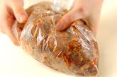 豚骨付きバラ肉の豆鼓蒸しの下準備1