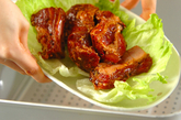 豚骨付きバラ肉の豆鼓蒸しの作り方1