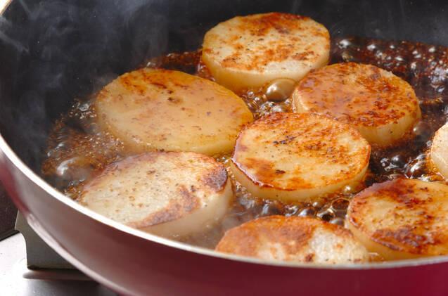 長芋のステーキの作り方の手順3