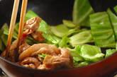 豚とキャベツのアンチョビ炒めの作り方2