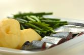 サンマのキムチ煮(コンチキムチチム)の下準備1