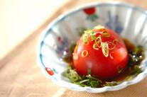 丸ごとトマトサラダ
