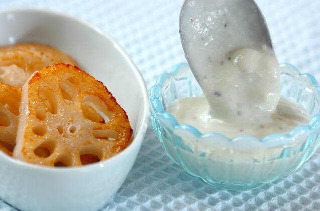 焼き野菜のブルーチーズドレッシングの作り方の手順4