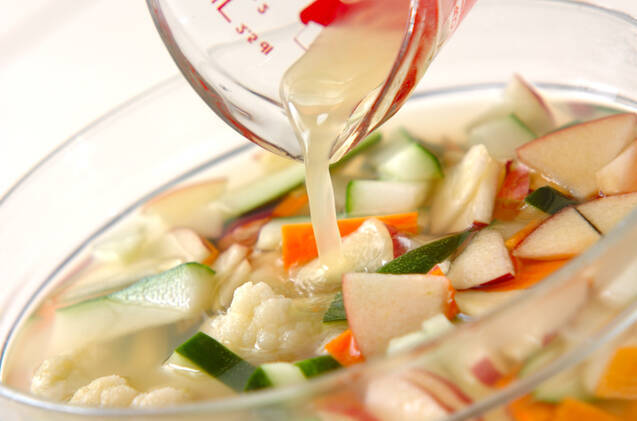 野菜のピリ辛漬けの作り方の手順7