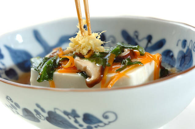 豆腐のあったかあんかけの作り方の手順8