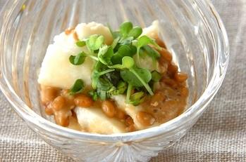 長芋の納豆和え