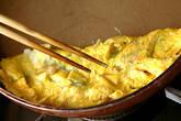 ナメタケ入り卵焼きの作り方2