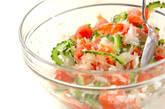ゴーヤと湯むきトマトのサラダの作り方5