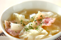 たっぷりキャベツのスープ
