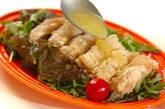 揚げ鶏のレモンソースの作り方10