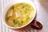 卵スープの作り方の手順