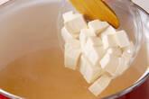 卵スープの作り方3