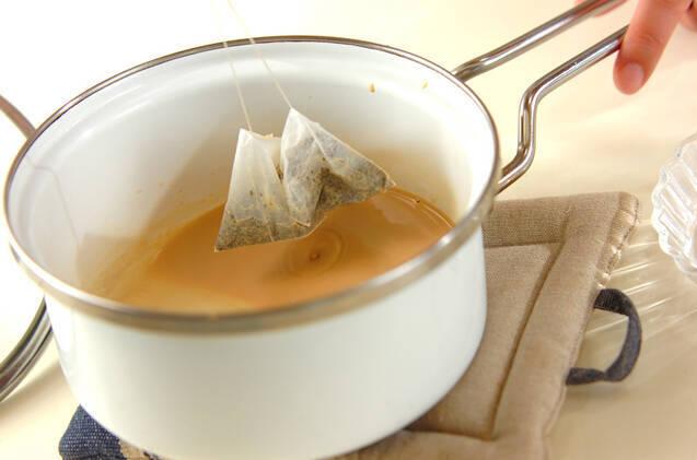 紅茶のブリュレの作り方の手順4