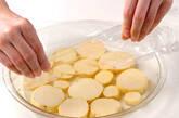 サツマイモ入り卵焼きの下準備2