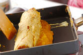サツマイモ入り卵焼きの作り方3