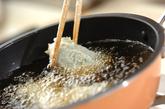 ささ身の梅肉はさみ揚げの作り方3