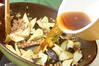 春キャベツのナスソースの作り方の手順4