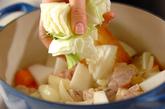 豆入りジャガのスープ煮の作り方1