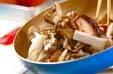 キノコと煮豆の辛炒め物の作り方6