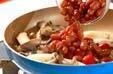 キノコと煮豆の辛炒め物の作り方7