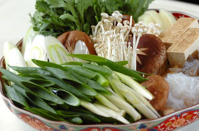 牛肉と鶏肉のすき焼きの作り方の手順14
