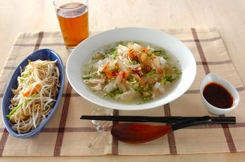 鶏スープご飯