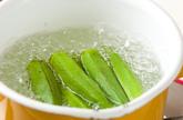 オクラ汁の作り方1