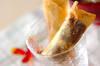 デザート揚げ春巻きの作り方の手順