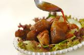 鶏照り焼きのサラダ仕立ての作り方4