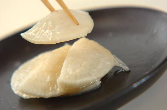 大根のべったら風塩麹漬けの作り方の手順4