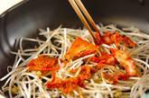 タラとキムチの重ね蒸しの作り方4