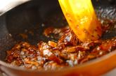 サンマ缶のピリ辛そぼろ丼の作り方1