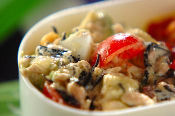 芽ヒジキとツナのサラダ