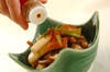ゼンマイとちくわの煮物の作り方の手順7