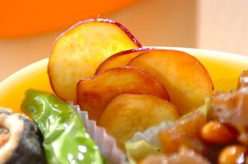 サツマイモのパリパリチップス