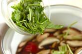 キノコの梅風味汁の作り方4